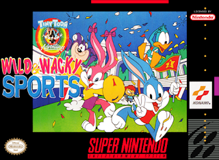 Tiny Toon Adventures - Wacky Sports Challenge [ SNES ]