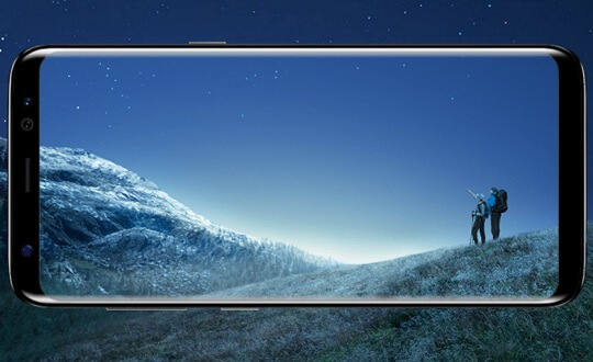 Samsung Galaxy S8 Receives A+ Rating from DisplayMate for its Infinity Display