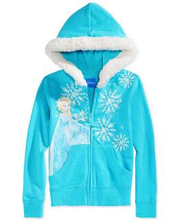 Jaket Frozen Untuk Anak Perempuan Bahan Kaos