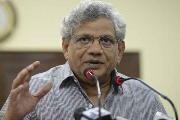 बूचड़खाने बंद करवाकर भारत को हिन्दू राष्ट्र बनाना चाहते हैं BJP-RSS: सीताराम येचुरी