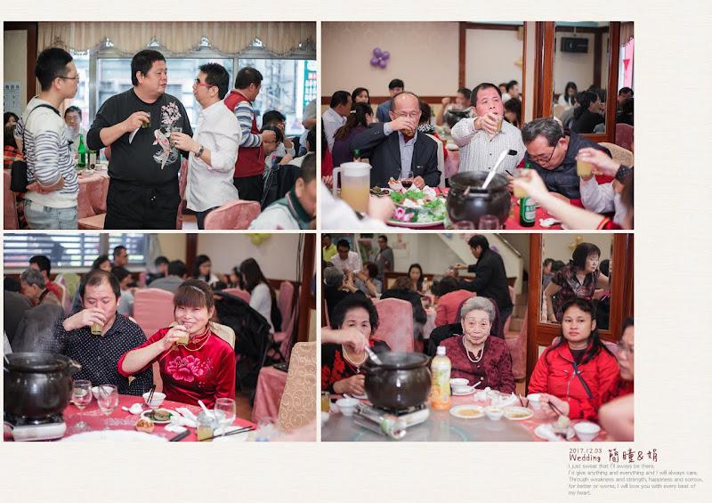 平凡幸福婚禮攝影,婚攝作品:賓客開心吃飯表情