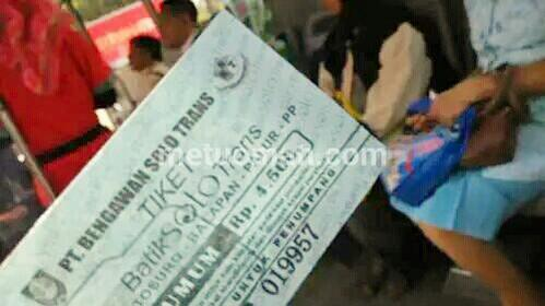 Tiket Bus Batik Solo Trans Terasa Mahal?