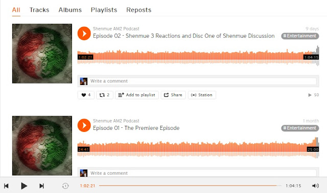 Episodes 1 and 2 in Soundcloud