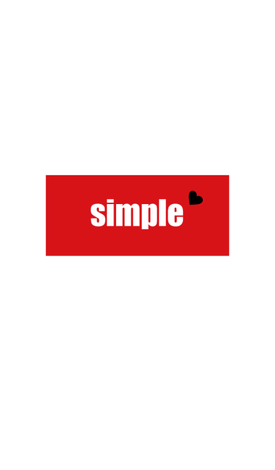Simple Frame -RED-