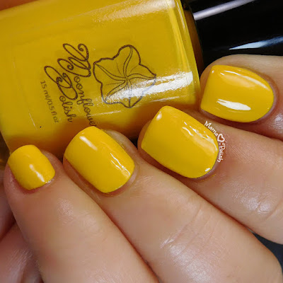 Hufflepuff-Pride-Nail-Art-Moonflower-Polish-Amarillo