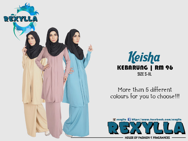 rexylla, kebarung, keisha collection