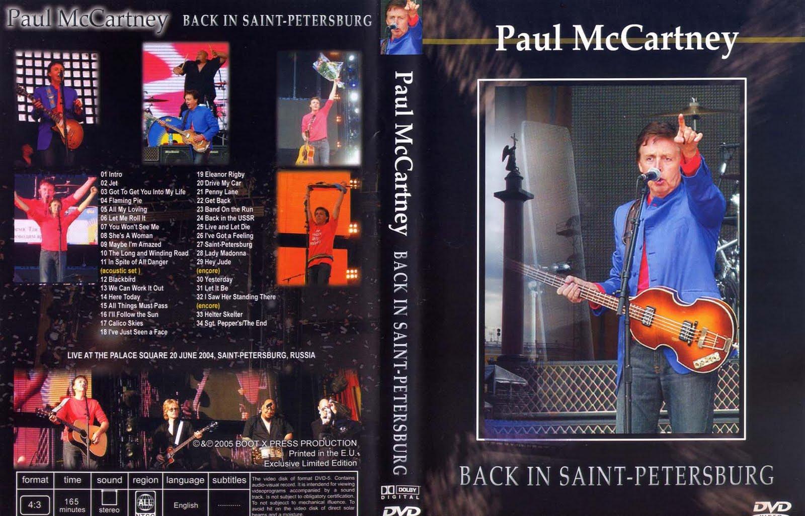 Paul McCartney 2005 Back In Saint Petersburg