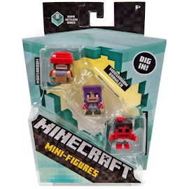 Minecraft Series 8 Mooshroom Hunter Mini Figure