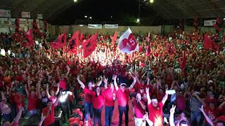 PMDB realiza convenção em Cuité e oficializa nomes de Fabiano e Lena de Bamba