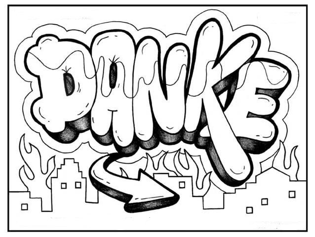 Tolle Graffiti Buchstaben Malvorlagen Bilder - Entry Level Resume ...