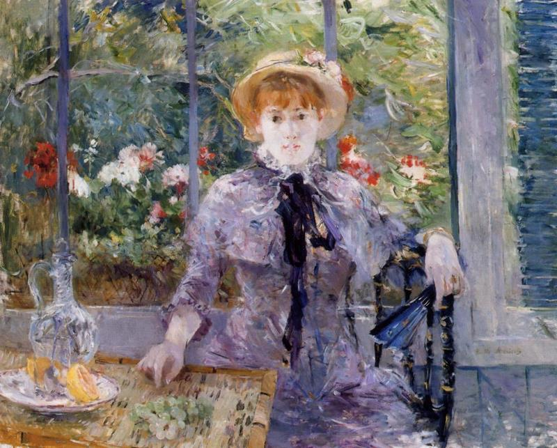 After Luncheon. Berthe Morisot, 1881