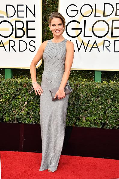 Natalie Morales Red Carpet Golden Globe
