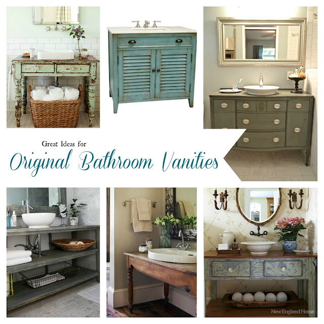 Postcards from the Ridge: Unique vanity ideas