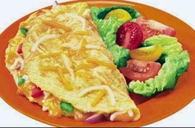 Omelet Telur sayuran merupakan salah satu makanan yang selain nikmat juga gampang dalam pembuatann Resep Omelet Telur Sayuran