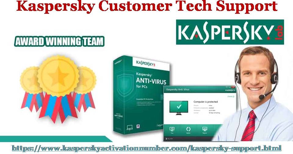 Contact Our Customer Tech Support experts to resolve all Kaspersky