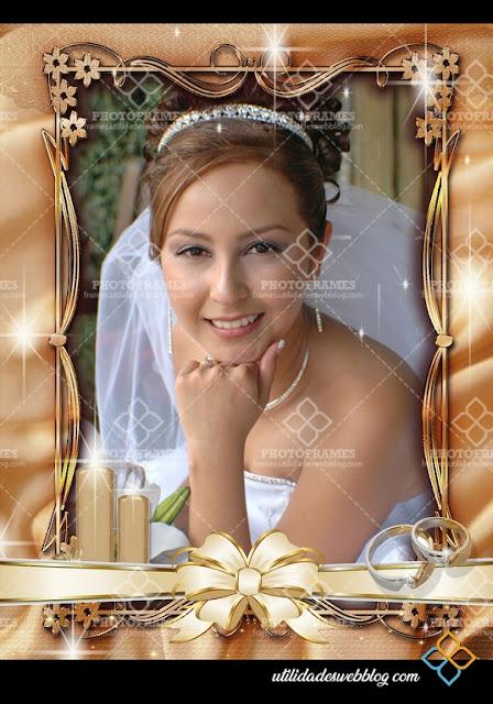Decorative Wedding Frame Cuprum Color