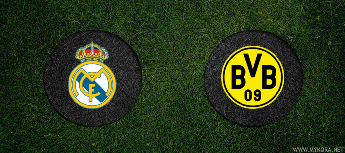 ريال مدريد وبروسيا دورتموند بث مباشر