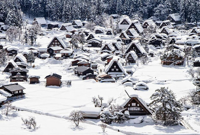Shirakawa-go in Japan