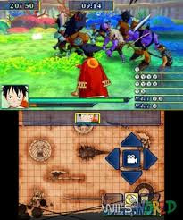Download One Piece Unlimited World Red 3DS ROM Cia