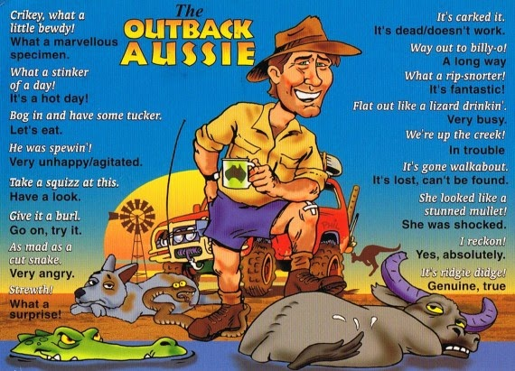 , Top Five Aussie Slang Words You Might Not Know #IBSD2014