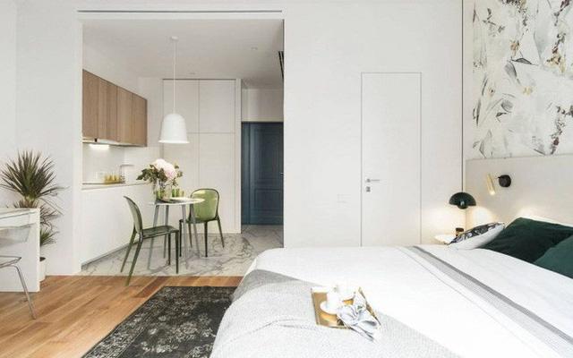 Chỉ 27m2 nhưng chủ nhà đã biến căn hộ của mình không thua kém chung cư cao cấp