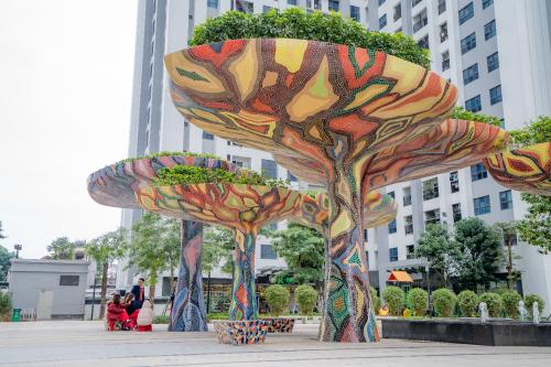Những mảng không gian đậm chất Singapore tại tổ hợp Goldmark City