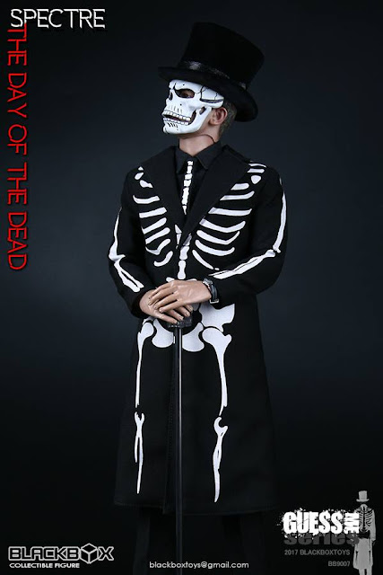"osw.zone Blackbox Guess Me Series 1/6. Season ""Specter - The Day of the Dead"" 12-inch action figure"