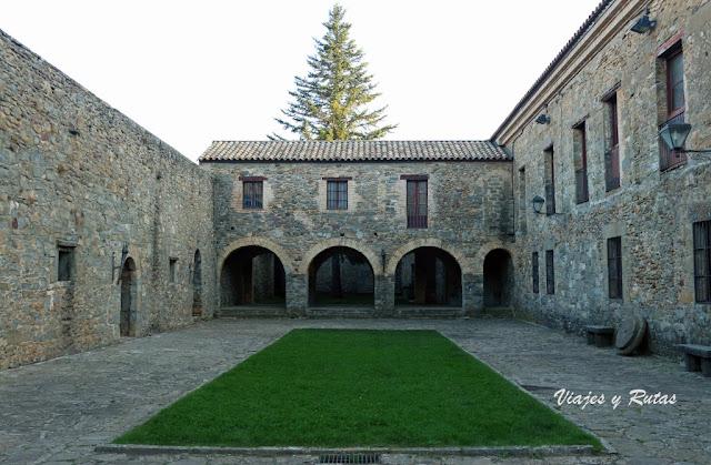 Interior de la Ciudadela de Jaca