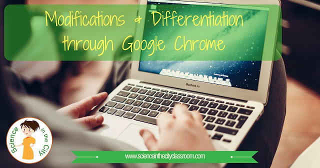 Description of Particular Chrome Extensions that can help provide accomodations