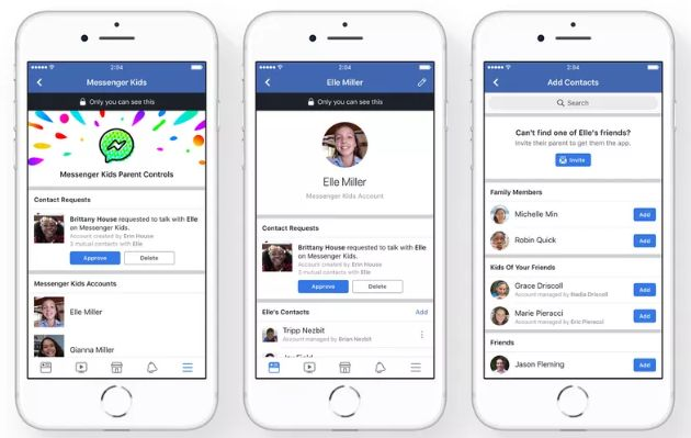 Facebook Launches Messenger Kids, A Facebook Messenger Apps for Kids