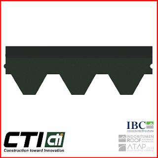 Atap Bitumen CTI Type CT6