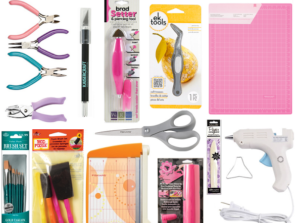 15 Basic Craft Tools For The Beginning Crafter on FaveCrafts