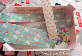 Piezas para forrar caja