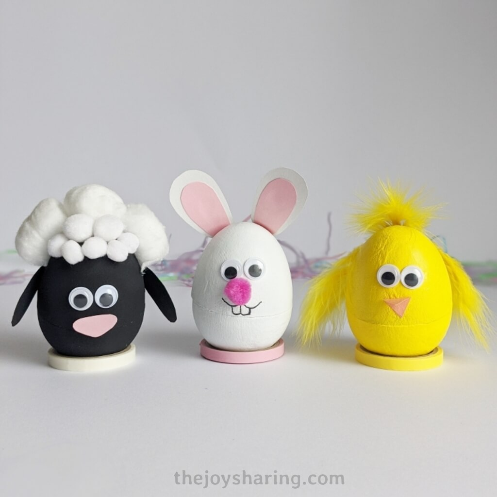 Easy Easter crafts for kids to make.
