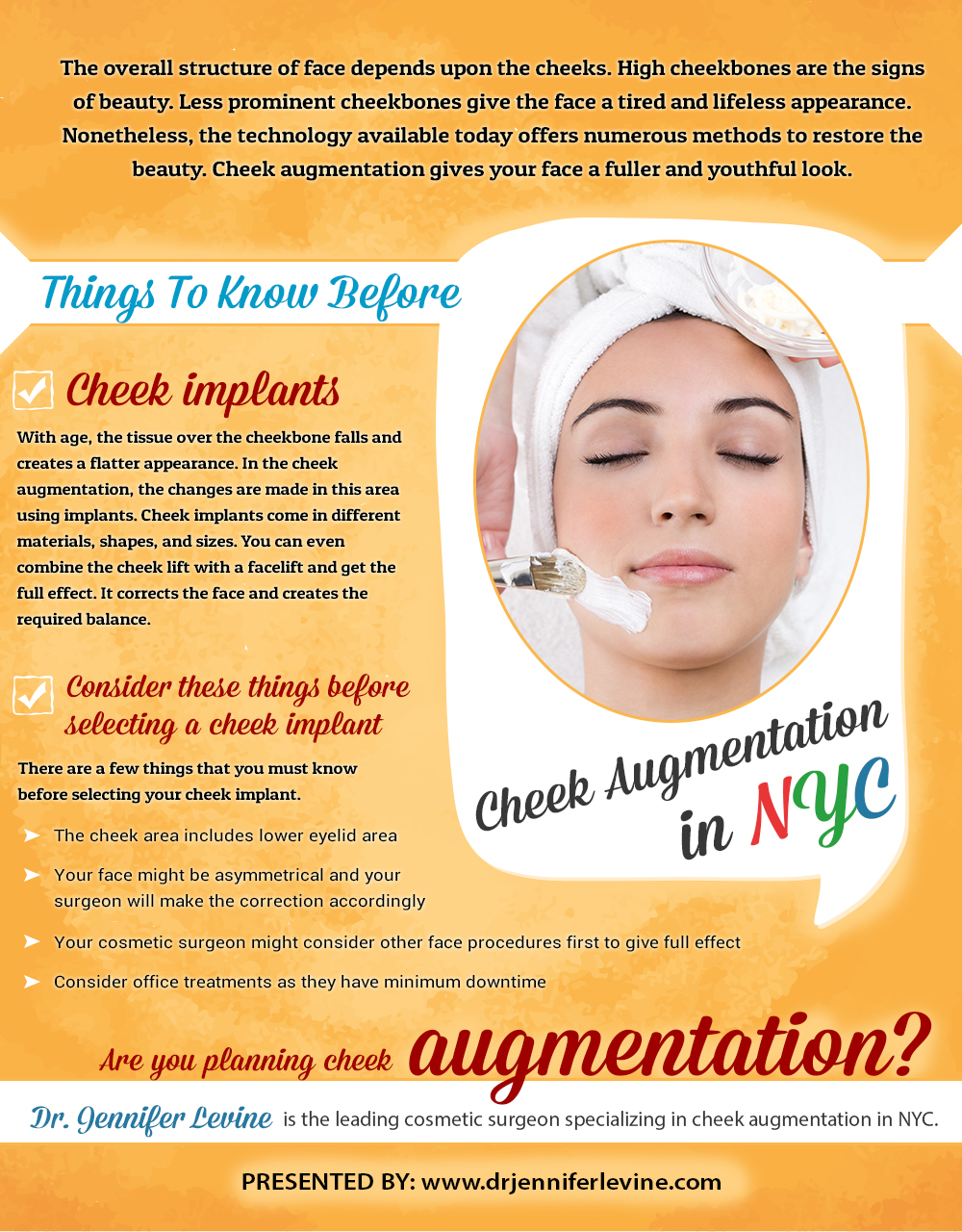 Cheek Augmentation in NYC