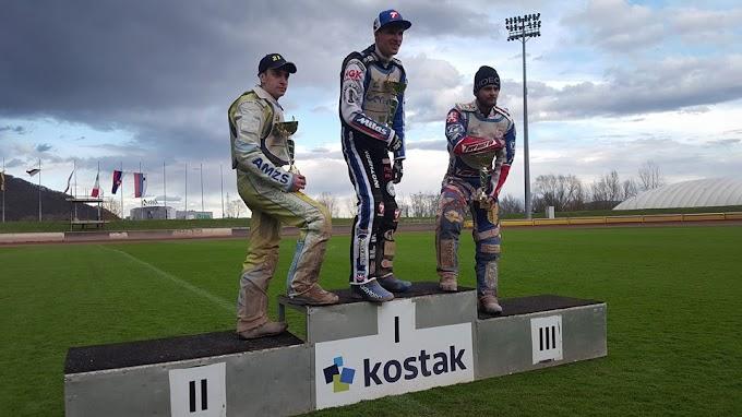 Matej Žagar nyerte az 1. fordulót