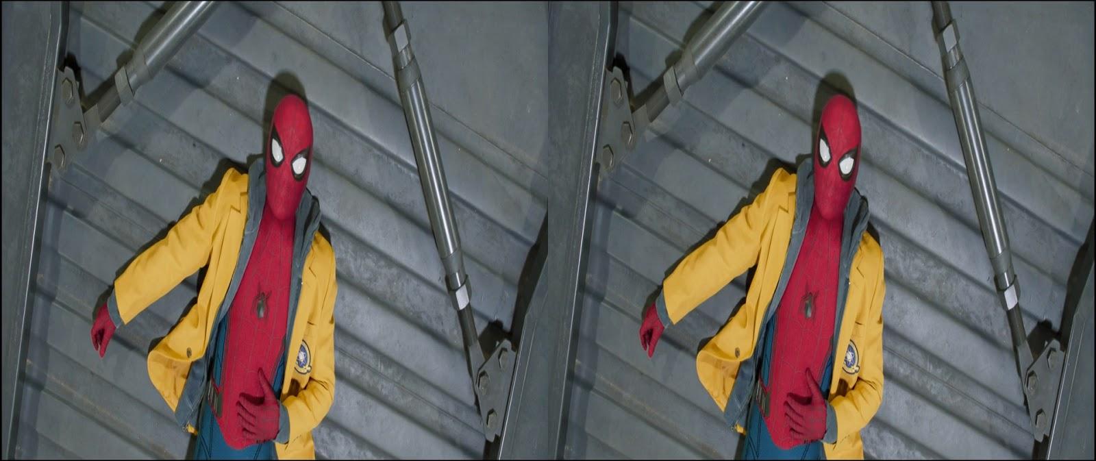 Spider-Man: De Regreso a Casa (2017) 1080p 3D SBS Latino – Ingles captura 3