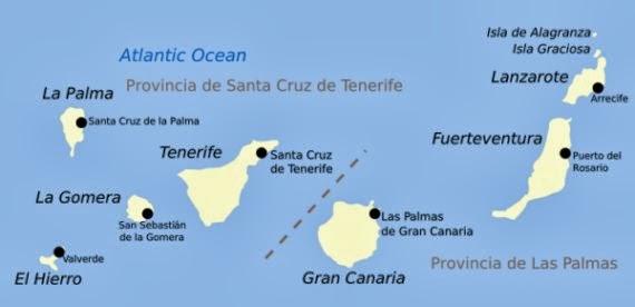 W Strone Slonca Wyspy Kanaryjskie