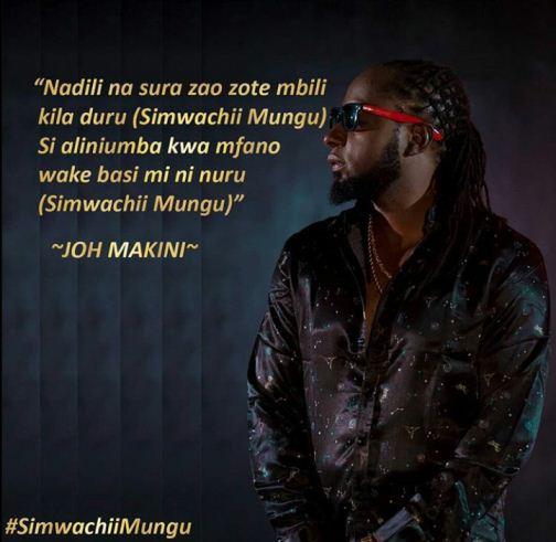 Joh Makini Ft. Ben Pol - Simwachii Mungu