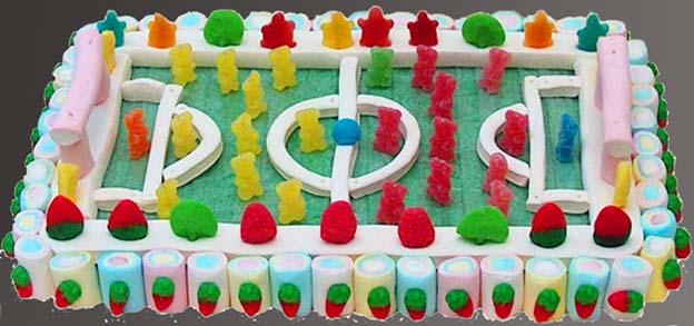 Campo de Futbol Chuches Pastel Esdiver Ilusiones a domicilio