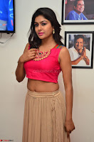 Akshita super cute Pink Choli at south indian thalis and filmy breakfast in Filmy Junction inaguration by Gopichand ~  Exclusive 018.JPG
