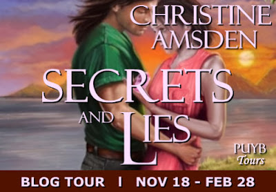Secrets and Lies by Christine Amsden - Guest Post & Kindle Fire HD Giveaway