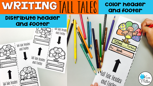 Creating a header and footer for Tall Tales