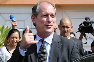 Presidenciável Ciro Gomes desembarca na Paraíba nesta segunda-feira