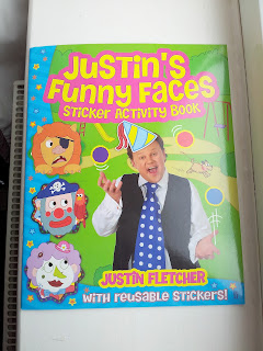 Justin Fletcher, Sticker book, Christmas stocking filler