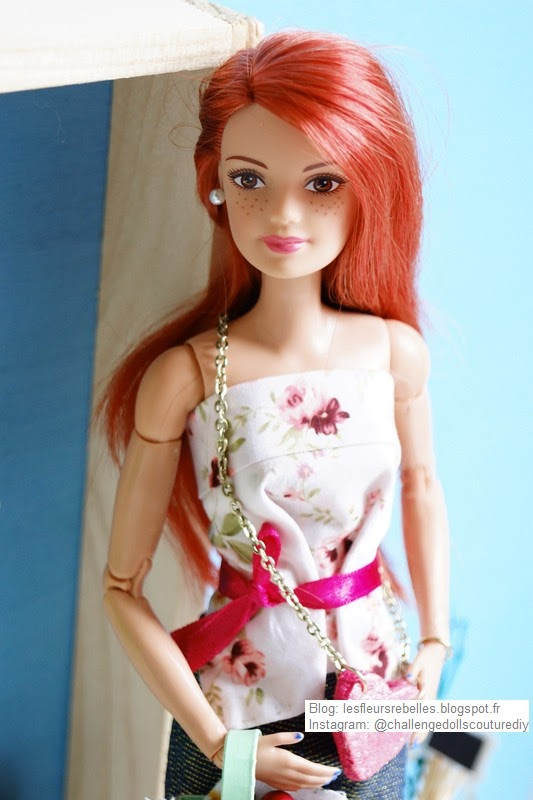 Portrait Barbie Made to Move rousse
