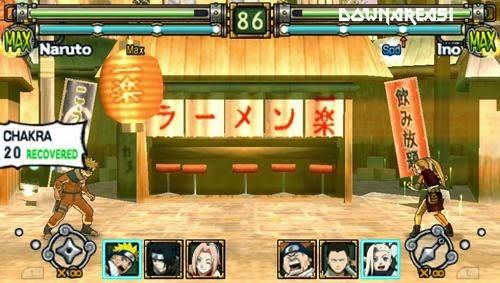 Naruto Ultimate Ninja Heroes PSP ISO - Download Roms Iso's