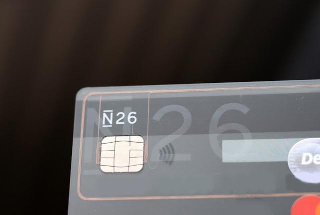 N26 maksukortti