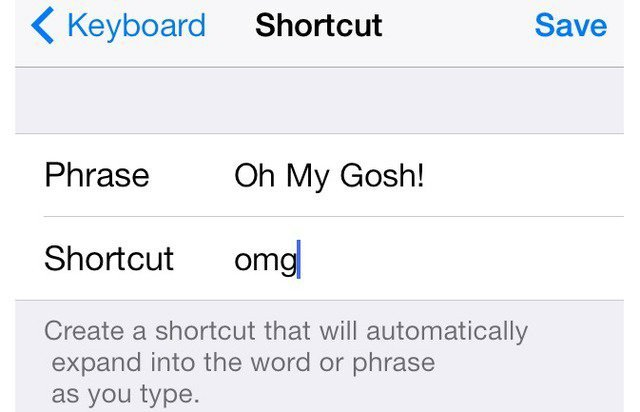 cara encoding shortcut message di iphone