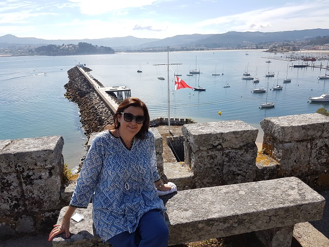 Castillo de Monreal en Bayona